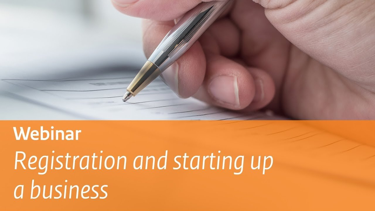 Registration and starting up a business
