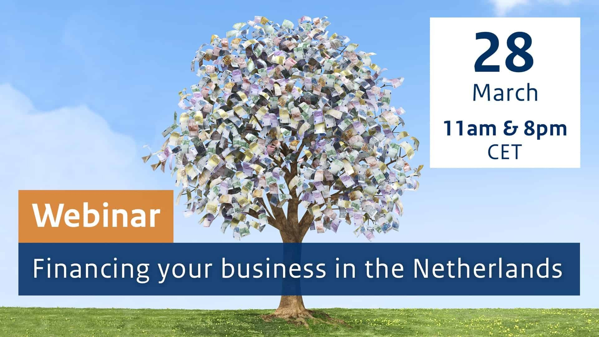 Financing your business in the Netherlands